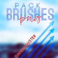 Pack #1 Brushes Png by DaniMonsterEditions