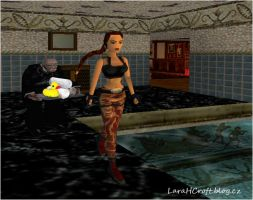 Lara's Bath by Charlie-of-LHCblog