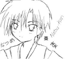 Natsume doodle by Chibi-Ookami-chan