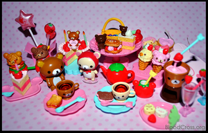 Rilakkuma Party by BloodCross
