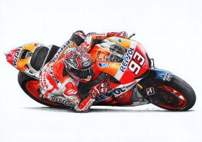 Marc Marquez by froggstomper79