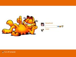 Garfield Login by JJ-Ying