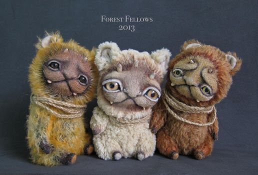Grumpy Folk. My original forest trolls:) by Forest-Fellows