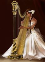 Heaven Harp by Vassantha