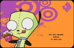 Gir with Cupcake by Reanimated-Theories