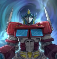 Optimus Prime by mogstomp