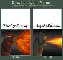 Born To Lead (Comparison Meme) by MorningAfterWolf