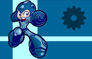 Smash Bros: The Demo Team-MegaMan by SkipperWing
