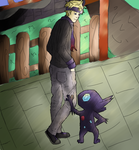 Morty and Sableye by Kimimaro888