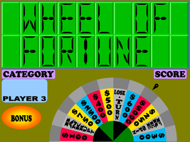 WOF 1995 LCD Game Screen HD Remake by germanname