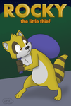 Rocky the little thief by GuineaPigDan