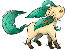 #470 Leafeon by allocen