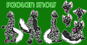 Snolf Ref by KalunaSkunk