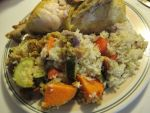 Citrus Roast Chicken and Rice by Windthin