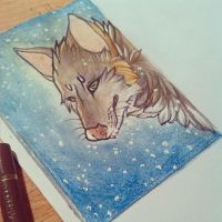 ACEO #27 Wolf by Torokou