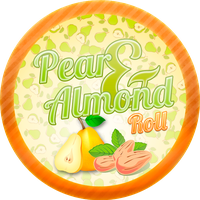 Pear and Almond Roll by Echilon