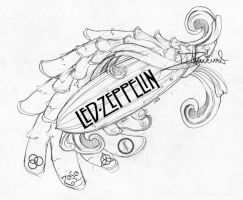 possible Led Zep tat maybe by dmillustration