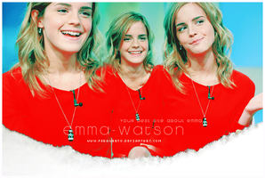 Emma Watson Lay for eklerka by FeraWerto
