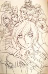 Persona 3 WIP Poster Lineart by Ashikai