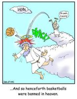 Basketball in Heaven by AtomicCheese