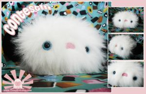 Fluffy Yeti Plushie by TomodachiIsland