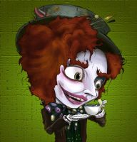 Mad Hatter by kidbrainer