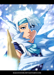 Hitsugaya attack by Magooode