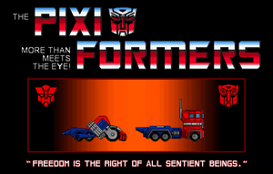 PIXIFORMERS - OPTIMUS PRIME by ShadowSpit