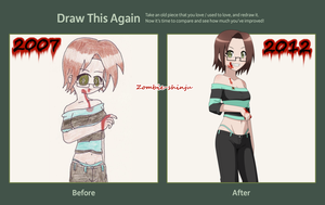 Draw Killer girl again by Hebi-no-Majo