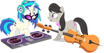 DJ-Pon-3 and Octavia - Going To Be Late by CaliAzian