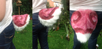 Fursuit tail - Kyari the Bunny by KitNightwing