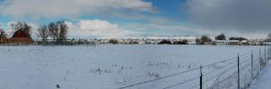 Snowy Nampa by eRality