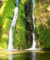 water falls::1 by chattan