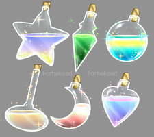 some potions by Forheksed