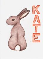 Bunny - for Kate by Silverfang-Chaos