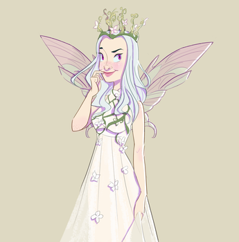 Moth Fairie by Linsketches