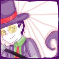 Superjail: the Warden by english-muffin