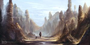 A Morning Pilgrimage by Ninjatic