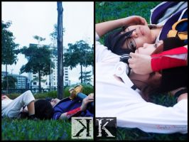 K - Project, MisakiXFushimi by MikuRC