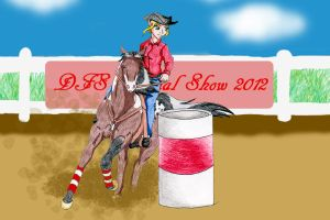 DFS Rascal barrel racing by rempage