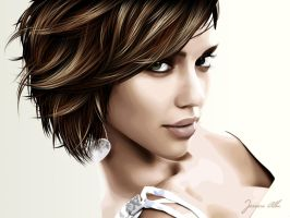 jessica alba by up1x