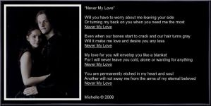Never My Love by VisualPoetress