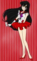 Sailor Mars by NatouMJSonic