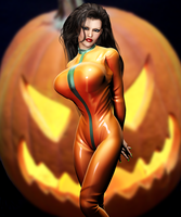 Pumpkin Girl by Kezob