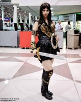 Xena by Jean Paul deGuzman by BrassIvyDesign