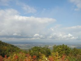 View from Laurel Caverns by punkdaddy74