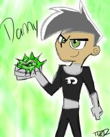 Sketch Of Danny 8D by SSDOGZII