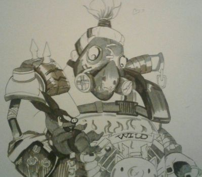 New friends?.... roadhog and tepig by TTPRINCE