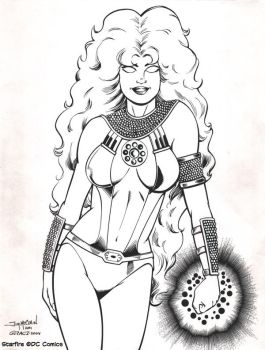 Starfire by JimMcClain