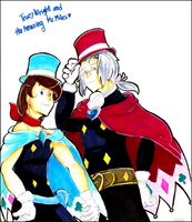 Trucy and the Amazing Mr.Miles by crovvn